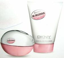 DONNA KARAN DKNY BE DELICIOUS FRESH BLOSSOM PERFUME EDP+SHOWER GEL UNBOXED