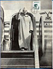 MAROC MOROCCO ROI MOHAMED V  page d une revue     lae894