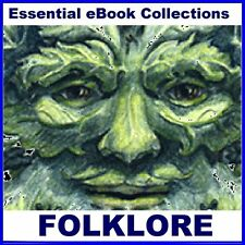 173 FOLKLORE, LEGEND & MYTHOLOGY ebooks for Kindle, etc. on CD