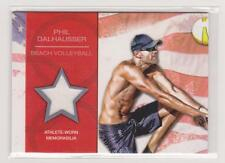 2012 TOPPS OLYMPIC PHIL DALHAUSSER RELIC CARD ~ BEACH VOLLEYBALL