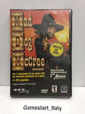 MAD DOG MCCREE VERSIONE DVD (PC/PS2) VIDEOGIOCO NUOVO NEW GAME VIDEOGAMES