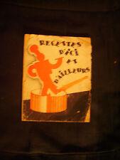 """Livret de recettes ancien """"Recettes d'ici et d'ailleurs"""" Le Tip par Mme Ramillon"""