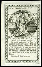 santino incisione 1600 S.OLIMPIA VEDOVA
