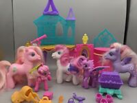 2011 G4 Lot My Little Pony Crystal Palace Castle With Twilight Sparkle, MLP