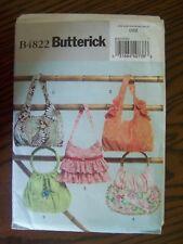 Butterick Handbags Pattern #B4822 OSZ, New Never Used