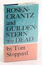 FIRST EDITION 1967 ROSENCRANTZ AND GUILDENSTERN ARE DEAD TOM STOPPARD HC w/DJ