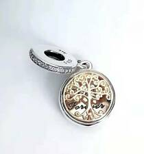 New Authentic Pandora  Family Tree Roots Love Dangle  Silver 925 Charm 791988
