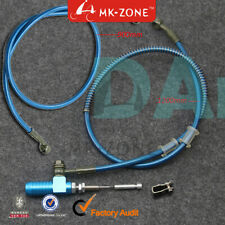 Motorcycle Hydraulic Clutch Slave Master Cylinder Rod Brake Pump 2pce oil hose