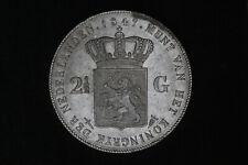 Netherlands - 2-1/2 gulden 1847 *quality* (#66)