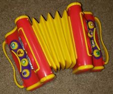 2004 The Wiggles toy Accordion Instrument Songs Spin Master Beautiful Works