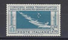REGNO 1930 Crociera Balbo 7,70L MNH** Ottimamente Centrato Certificato (K)