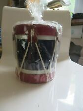Vintage Noble & Cooley CIVIL WAR AMERICAN COLONIAL Snare Drum Coin Bank NEW A