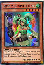 YUGIOH REEZE, WHIRLWIND OF GUSTO HA06-EN012 1st EDITION SUPER RARE
