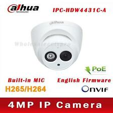 Dahua IPC-HDW4431C-A 4MP 50M IR Support PoE Built-in Mic Network Dome IP Camera