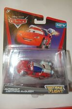 CARS TAKE FLIGHT DISNEY ASTRONAUTE FLASH MAC QUEEN AUTONAUT LIGHTNING MCQUEEN