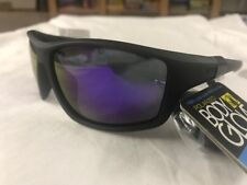"$38.00 MENS BODY GLOVE ""FL21"" POLARIZED FLOATING SUNGLASSES BLACK PURPLE MIRROR"