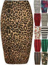 Summer/Beach Stretch Knit Regular Size Skirts for Women