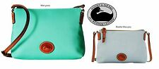 Dooney & Bourke Crossbody Pouchette messenger bag, Mint green or Heather Blue,