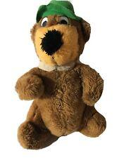 "Vintage 1980 Yogi Bear Hanna-Barbera  9"" Plush Stuffed Animal"
