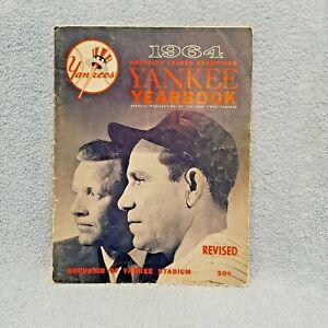 1964 NEW YORK YANKEES REVISED YEARBOOK EX. BERRA MANTLE MARIS FORD; REVISED ED