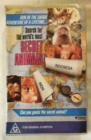 The Search for the World's most Secret Animals VHS 1989 Roadshow Large Soft