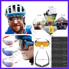 POC Cycling Biker Polarized Glasses Sunglasses UV400 Bike Mens Women Sport 5Lens