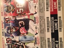 Texans vs. Packers unused ticket stub from 10/14/12 - Arian Foster - Rogers 6TDs