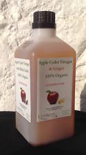 "Apple Cider Vinegar & Black Garlic & Ginger (100% Organic)1Ltr- inc""the mother"""