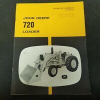 John Deere 720 Loader OM-U15534U Operator's Manual