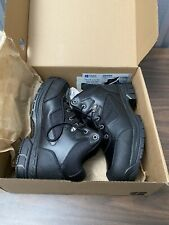 Shoes for Crews Voyager II Steel Toe Slip Resistant Leather Work Boots Sz 11