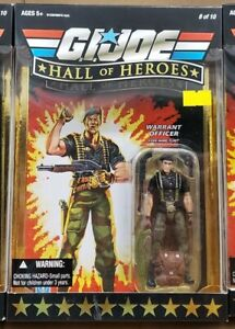 "G.I. Joe 25th Hall of Heroes: Warrant Officer Flint 3.75"" Figure"