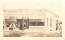 Hayfield Minnesota~Ellingsen & Gregerson Dry Goods~Mannequins~Bank~1912 RPPC
