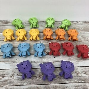 Reptangles Turtles That Snap Geometry Puzzle Fat Brain Toy 19 Pieces Replacement