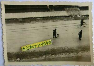 1.Foto Juden - Jüdische Volkstypen - Zwangsarbeiter in Russland.