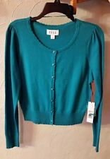Elle . Sweather for womens size S. Enamel blue color.  Retail price  $50.00