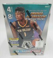 2019-2020 Panini Mosaic NBA Basketball Blaster Box Orange Prizm - Factory Sealed