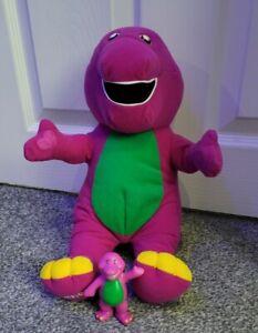 Vintage Barney The Dinosaur Talking Large Plush 1996