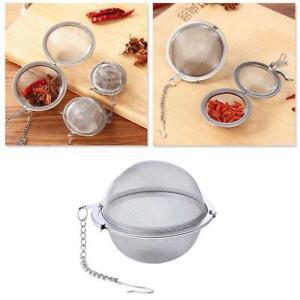 Kochgewürzfilter Edelstahl Teekugel Mesh Tea Infuser Sieb