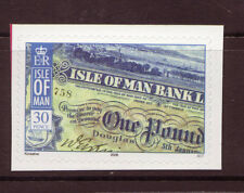 ISLE OF MAN 2008, BANK NOTES SELF ADHESIVE  UNMOUNTED MINT