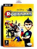 Descubriendo Robinsons PC Completo Retro Videogame Videojuego Mint Condition