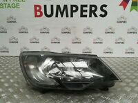 SKODA SUPERB 2015 GENUINE DRIVERS HEAD LIGHT LAMP P/N: 3T2941016F **DAMAGED