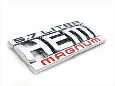 Dodge Jeep Chrysler 5.7L HEMI MAGNUM Decal Emblem Nameplate GENUINE OEM MOPAR