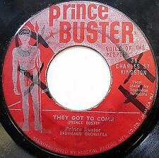 PRINCE BUSTER vg reggae SKA 45 They Got To Come / These Are The Time c252