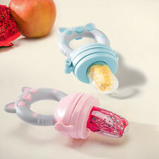 Baby Dummy Feeding Nibble Weaning Nutrition Pacifier Fresh Fruit Food Feeder Us