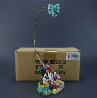 "Christopher Radko Easter Parade 11"" Ornament Stand Resin Base NEW IN BOX"