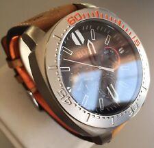 Mens Genuine Hugo Boss Orange Large Designer Watch marina pam 1513297 Chunky