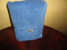 LACOSTE BLUE (1) HAND TOWEL 15 X 28 100% COTTON