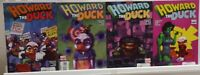 Howard the Duck 1 2 3 4 Complete Set Series Run Lot 1-4 VF