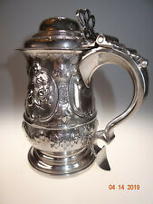 Siberhumpen, Krug, Tankard, Silber 925er, George III., London 1770, sehr selten