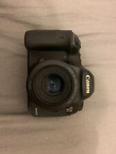 Canon EOS 5D Mark III 22.3MP Digital SLR Camera - Black + Canon EF 50 mm 1.8 Stm